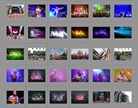 Fotografie festivals, concerten, DJ's, artiesten