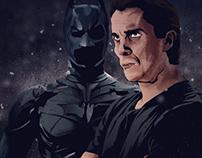 Batman as Christian Bale