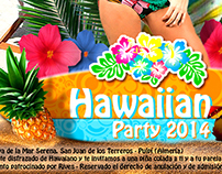 """Poster """"Hawaiian Party"""" 50x70"""