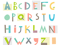 Geometric alphabet + some shapes