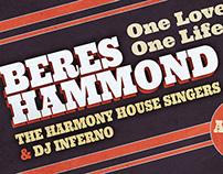 Beres Hammond Concert Promotional Materials