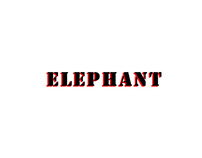 3D Character Model_ Elephant