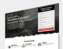 NewFaceModels - Landing Page