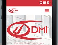 DMI Music & Media Solutions Website redesign