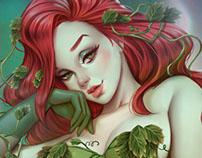 Poison Ivy & Harley | Gotham City Sirens Fanart