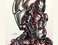 Iron Man Mark 3 Illustration