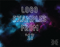 Logo Examples From '17