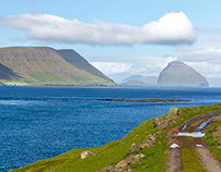 Around Kirkjubøur, Faroe Islands