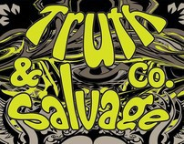 Truth&Salvage Co Poster Design