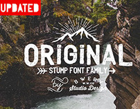 Stump typeface + free fonts