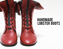Handmade Lobster Boots
