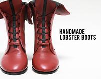 Handmade Lobster Boots