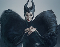 Maleficent in Alexander McQueen