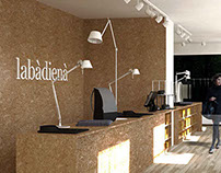 """""""labàdienà"""" fashion boutique interior design concept"""