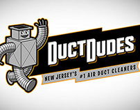Duct Dudes Logo Animation