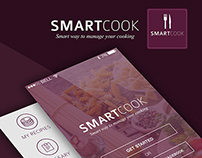 Smart Cook Recipe iphone (Version) App in iOS 7