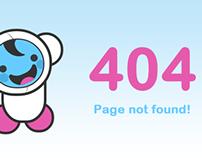 Pure CSS3 Kawaii inspired 404 Error Page