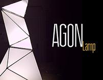 AGON - Sculpture Outdoor Lamp