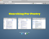 Searching For Poetry