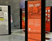 Freedom Of Expression in Broad Strokes - Exhibition