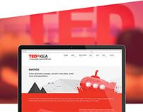 TEDxKEA webdesign
