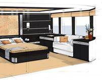 SCYTHIAN yacht interior