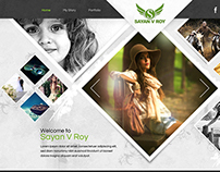 Professional Photograper Portfolio Website
