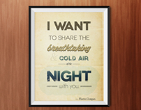 Cold Air of the Night – Poster