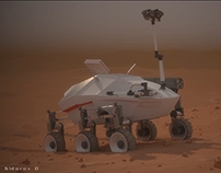 Mars rover. Reworked