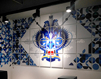 Adidas Originals Shanghai Flagship Store Graphics & Art