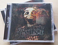 SmackHandle CD Album Artwork, Layout and T-shirt Design