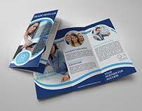 Company Brochure Tri-Fold Template Vol.11
