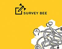 Survey bee visual identity / logo design