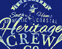 Heritage Crew - Summer Logos - Apparel Graphics
