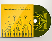 Kraftwerk album cd and poster design