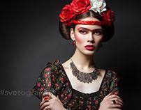 Frida Kahlo styling
