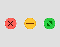 OS X Yosemite Traffic Lights Wallpaper