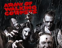 Army Of Walking Corpses Band Photoshoot