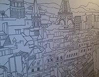 Paris wall