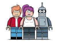 LEGO Futurama
