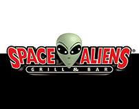 Space Aliens Grill & Bar — Spec Outdoor Campaign