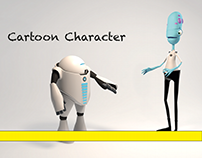 CARTOON CARACTER C4D