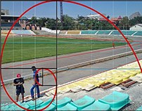 Stadium and Golden Section