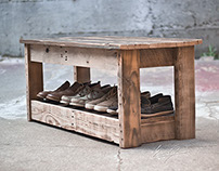 Reclaimed Wood Table/Bench