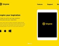 Tinyone – PSD Landing Page Template