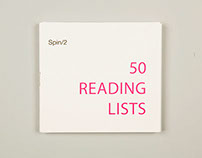 Booklet: 50 Reading Lists