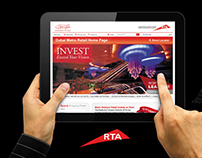 RTA Dubai Metro - Innovative Retail Sales Website
