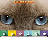 Animal One website