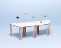 GOGA  / Modular Furniture Display System
