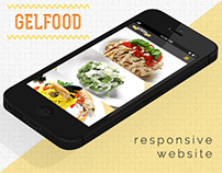 Gelfood, responsive website